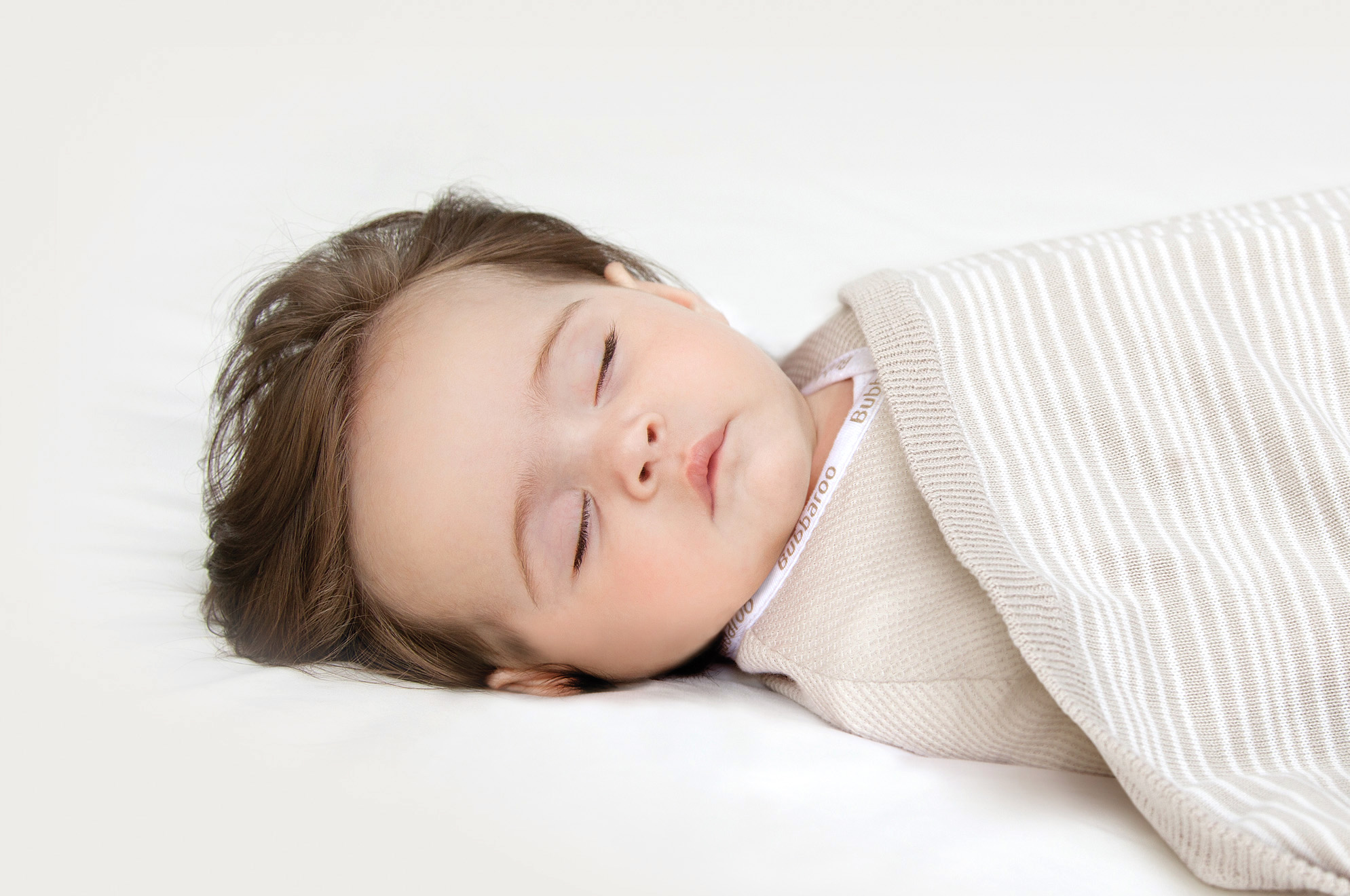 Baby just right for sleep - not too hot or too cold