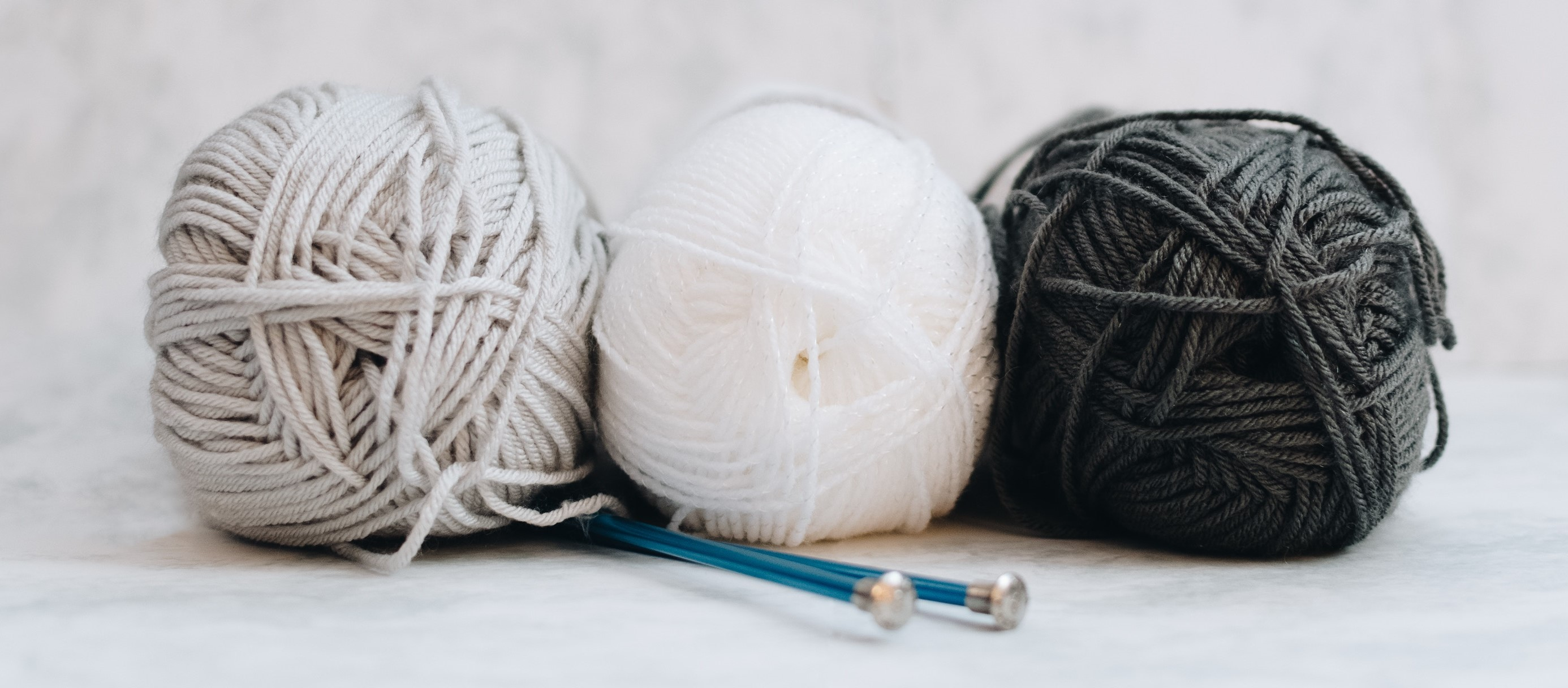 Bundles of wool